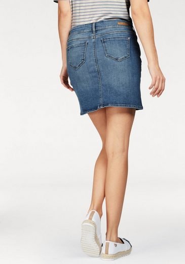 Mavi Jeans Denim Skirt Alice, With Slight Used-effects