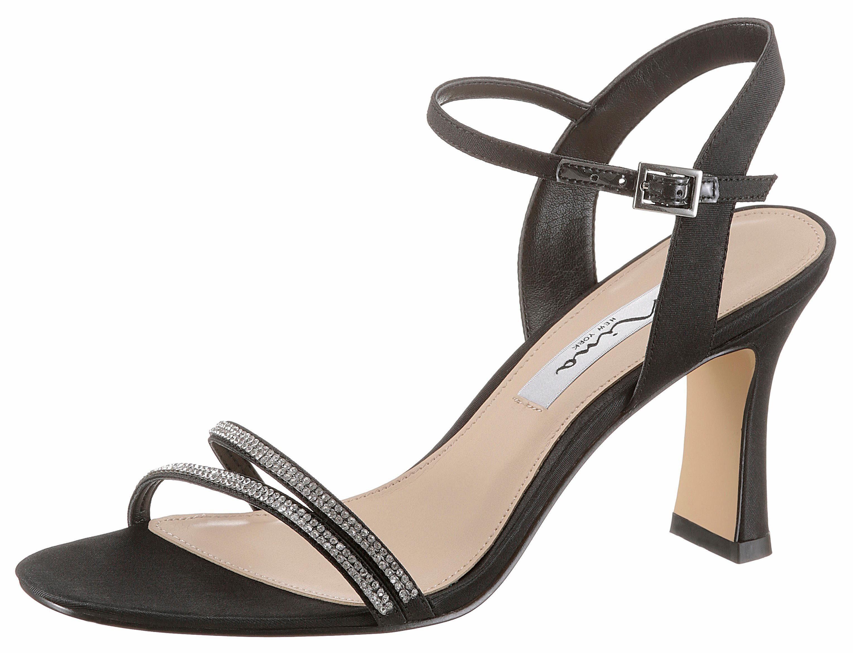 Nina Avalon Sandalette, mit verzierenden Strasssteinen online kaufen  schwarz