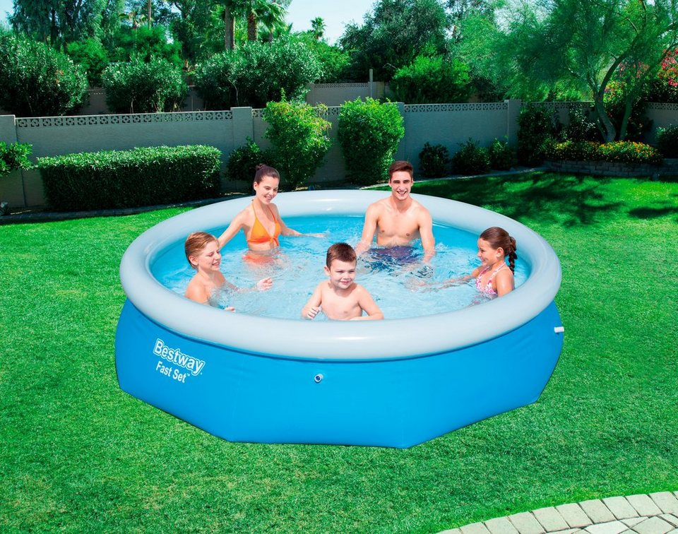 Bestway quick up pool fast set pool xh 305 x 76 cm online kaufen otto - Quick up pool zubehor ...