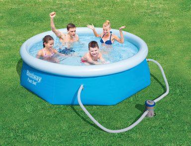 BESTWAY Set: Quick-Up Pool »Fast Set™«, mit Filterpumpe, ØxH: 244x66 cm