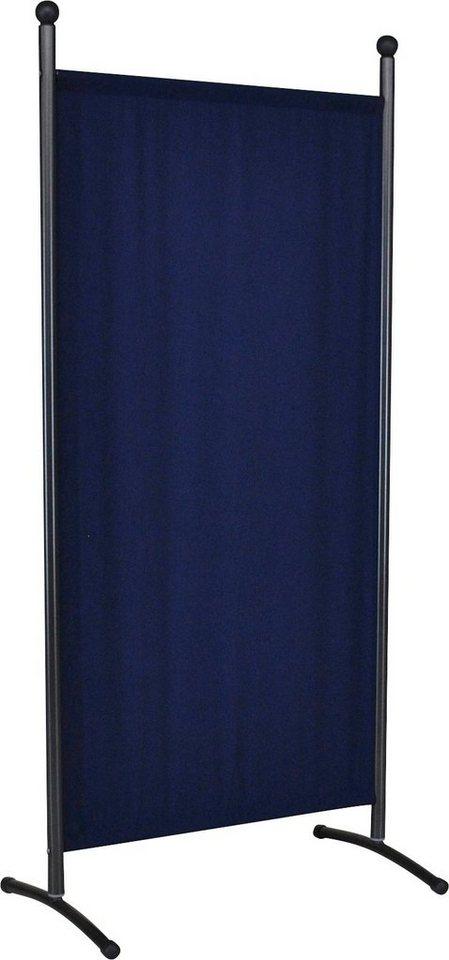 angerer freizeitm bel stellwand klein blau b h ca 82x178 cm online kaufen otto. Black Bedroom Furniture Sets. Home Design Ideas