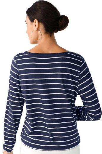 Classic Inspirationen Shirt in modischer 2-in-1-Optik