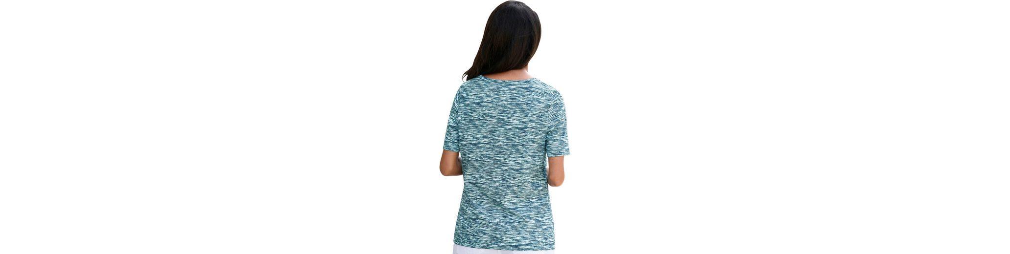 Collection L. Shirt in Melange-Optik Mit Visum Günstigem Preis Zahlen Steckdose Erkunden Werksverkauf Shop Selbst 1Bco1pSg