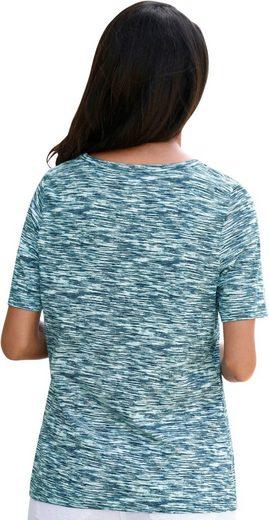Collection L. Shirt in Melange-Optik