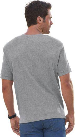 Marco Donati Kurzarm-Shirt in dreidimensionaler Waffelpikee-Struktur