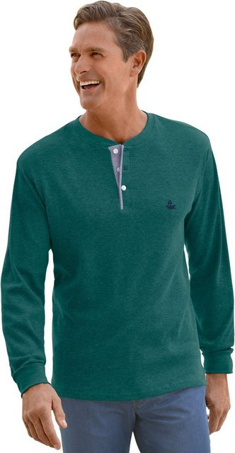 catamaran -  Langarm-Shirt hautsympathischem, atmungsaktivem Waffelpikee