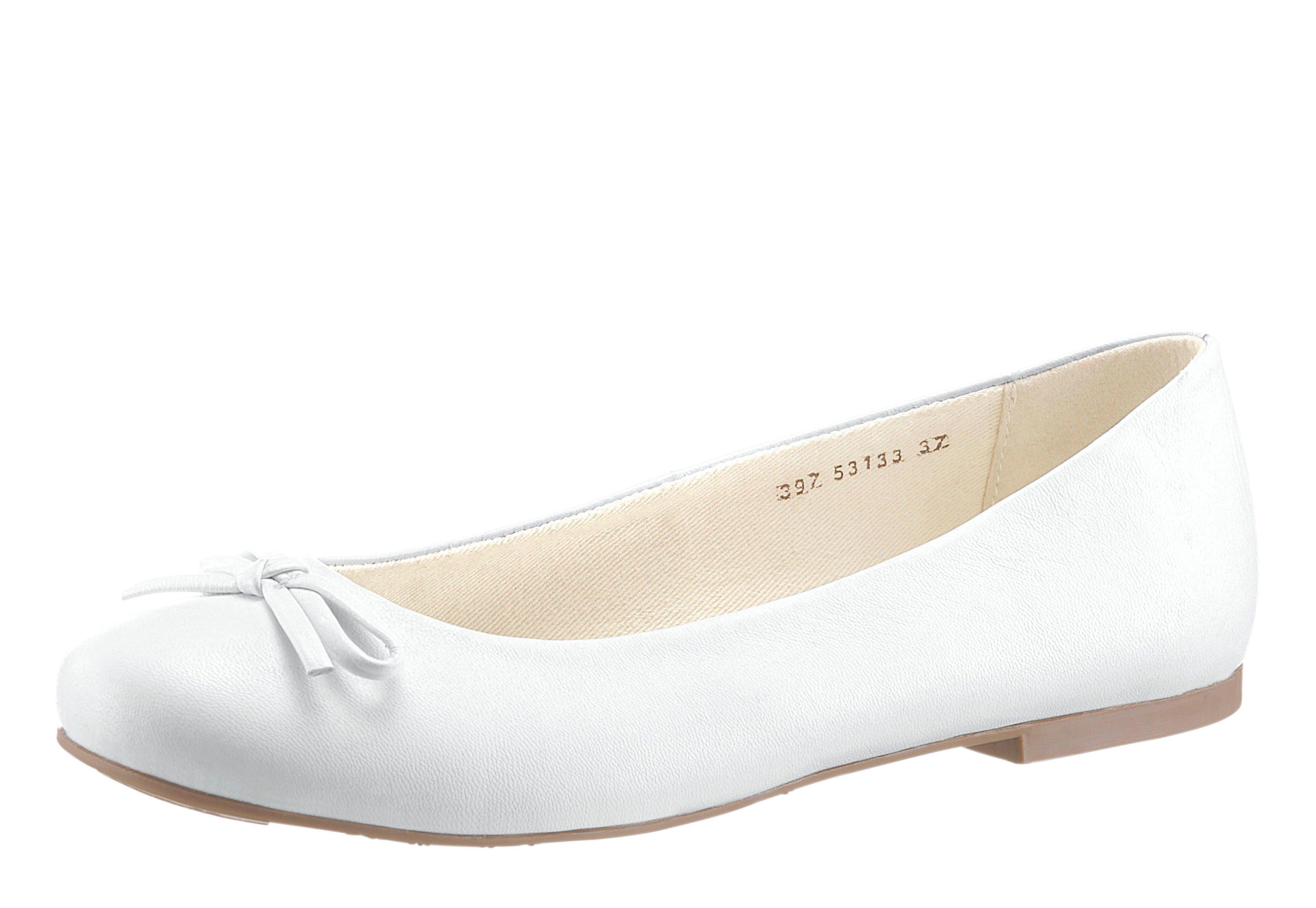Spielraum Wahl Steckdose Shop Airsoft Damen Ballerina weiß Ebay Online Sehr Billig Ad2Fs3