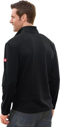 Catamaran Langarm-Shirt mit verlängertem Rückenteil