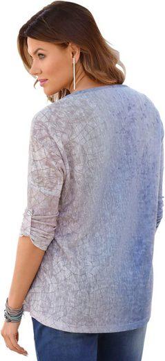 Shirt mit Glitzersteinchen