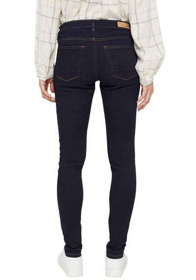 Esprit 5-Pocket-Jeans mit sichtbarer Knopfleiste