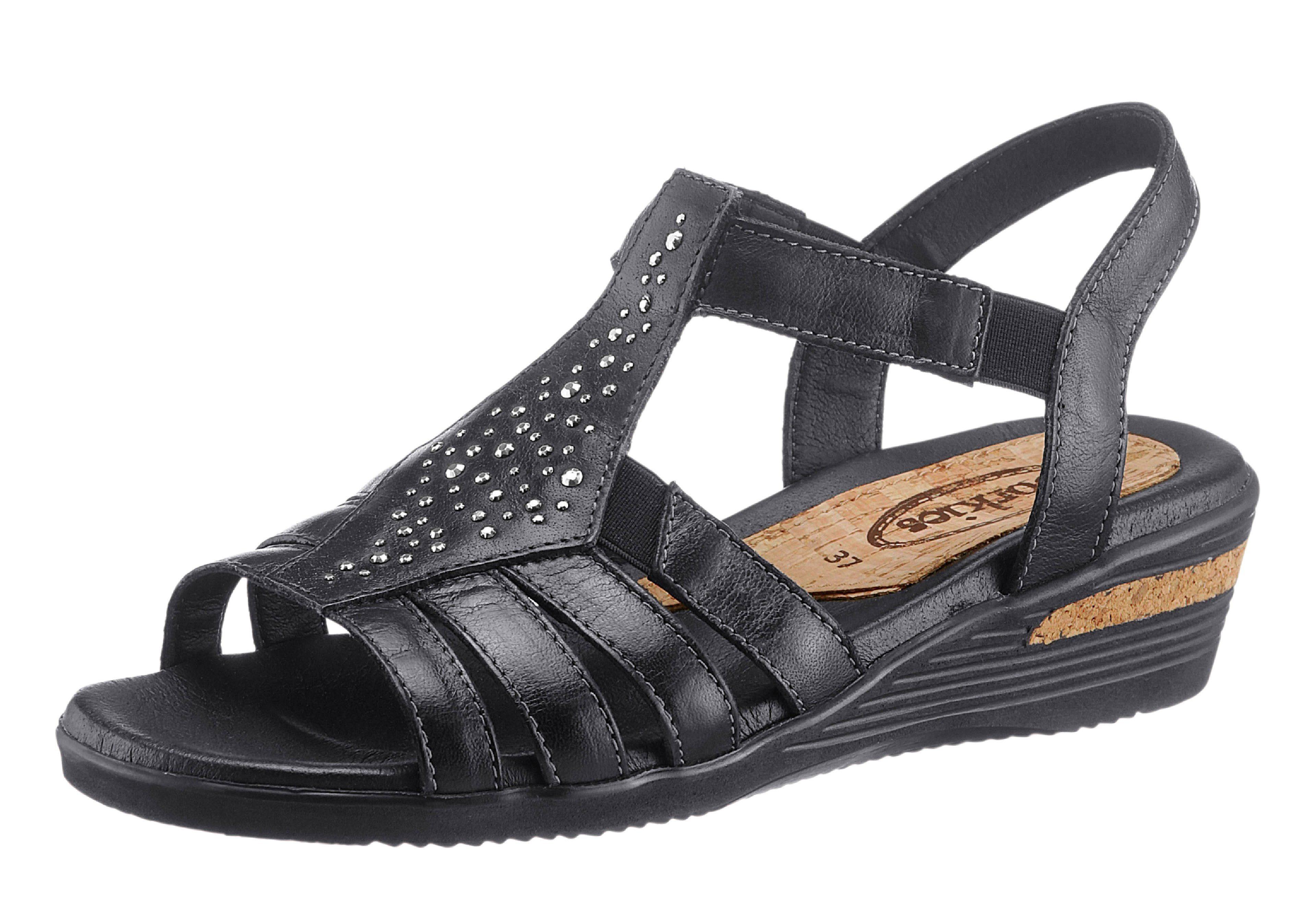 Corkies Sandalette mit rutschhemmender PU-Laufsohle online kaufen  schwarz