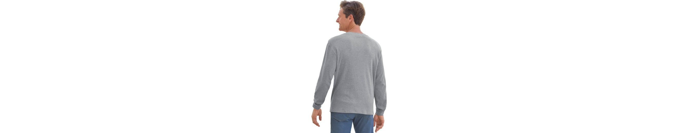 Catamaran Langarm-Shirt hautsympathischem, atmungsaktivem Waffelpikee