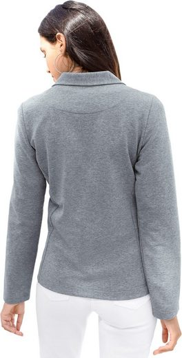 Classic Inspirationen Jersey-Blazer mit Revers-Kragen