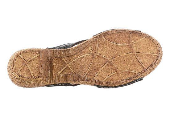 Pantolette mit rutschhemmender PU-Laufsohle