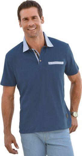 Marco Donati Kurzarm-Shirt in luftdurchlässiger Pikee-Qualität