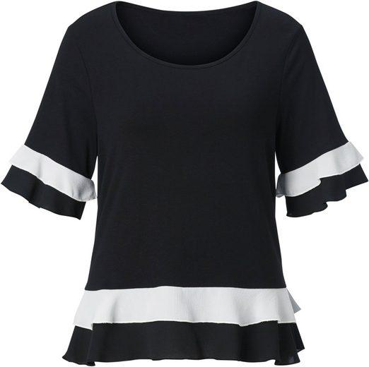 Classic Basics Shirt mit kurzen Ärmeln