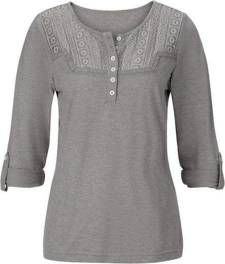 Classic Inspirationen Shirt aus Effektgarn