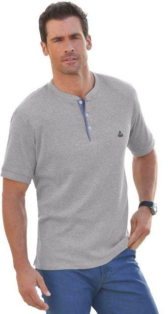 marco donati -  Kurzarm-Shirt in dreidimensionaler Waffelpikee-Struktur