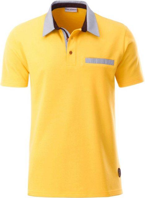 marco donati -  Kurzarm-Shirt in luftdurchlässiger Pikee-Qualität