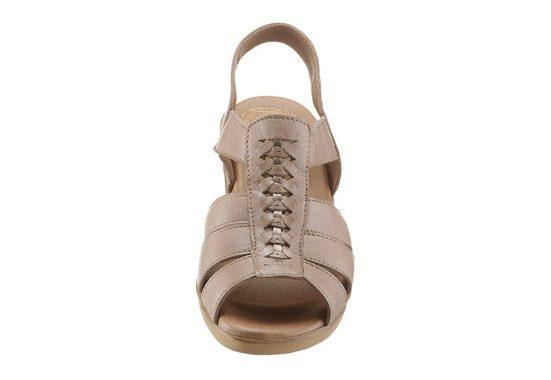 Corkies Sandalette mit rutschhemmender PU-Laufsohle