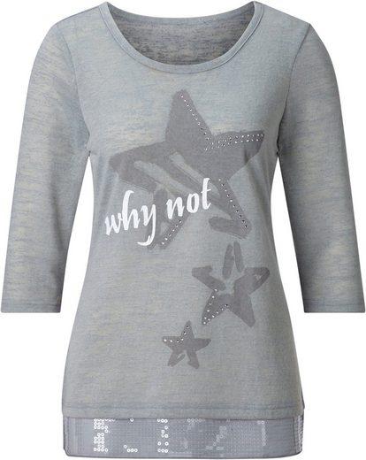 Classic Inspirationen Shirt mit Glitzer-Steinchen
