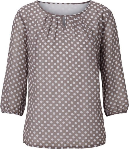 Alessa W. Blouse With A 3/4-sleeves