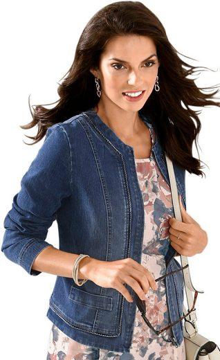 Alessa W. Jeans-Blazer in modischer Kurzform