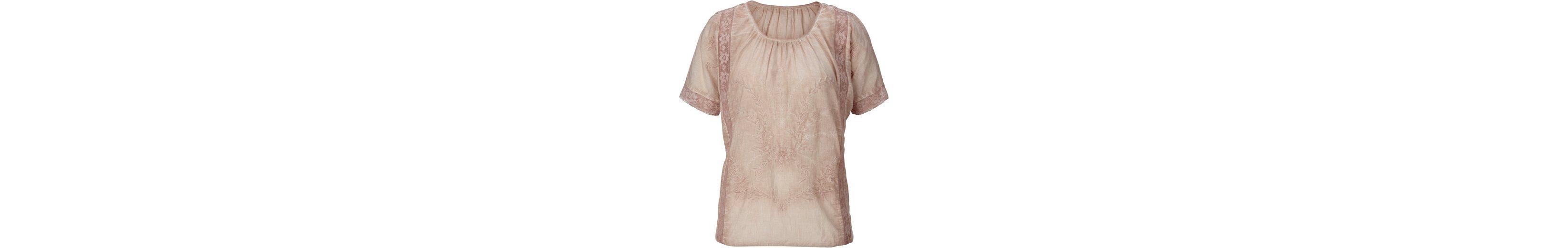 Alessa W. Bluse aus reiner Baumwolle Günstiger Preis Auslass Verkauf sJEwTC9q29