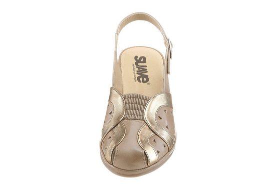 Suave Sandalette mit rutschhemmender Synthetik-Laufsohle