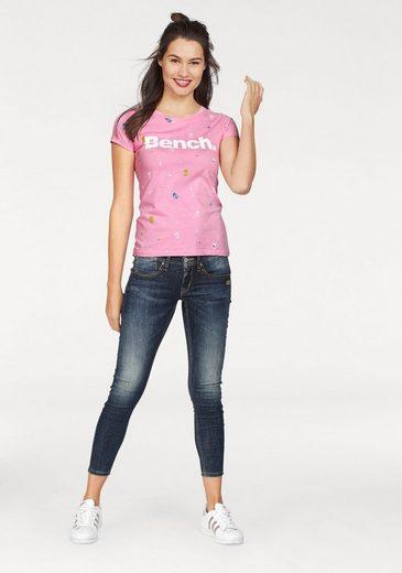 Bench T-Shirt, im trendy Allover-Design