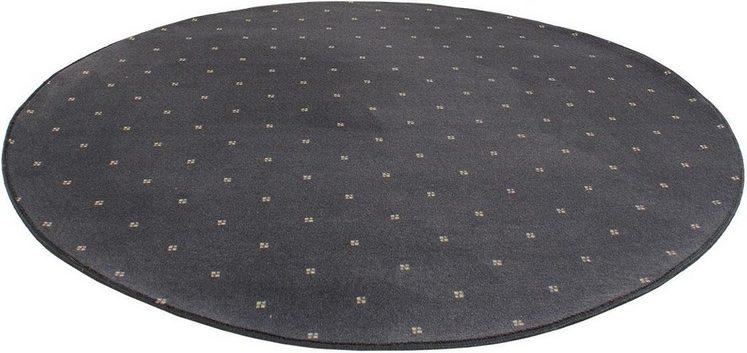 Teppich »Oxford«, Living Line, rund, Höhe 7 mm