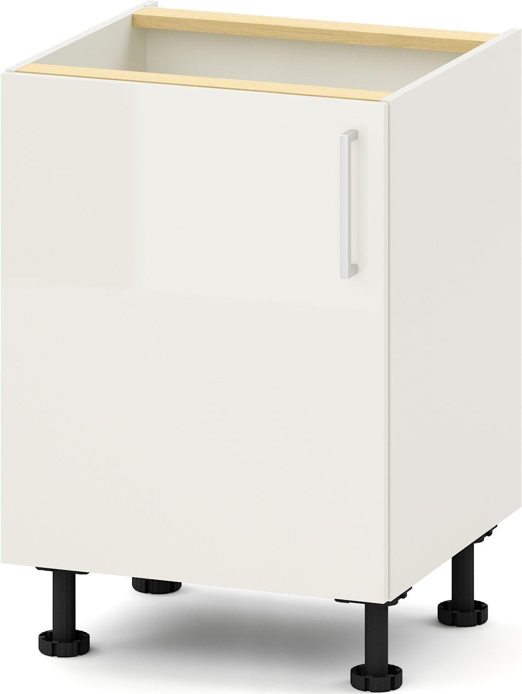 S+ by Störmer Spülenschrank »Melle Basis«, Breite 60 cm | Küche und Esszimmer > Küchenschränke > Spülenschränke | Weiß - Lava - Matt - Glanz | Holzwerkstoff - Mdf - Melamin | S+ by Störmer