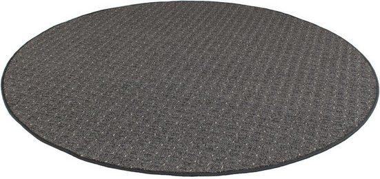 Teppich »Cambridge«, Living Line, rund, Höhe 6 mm