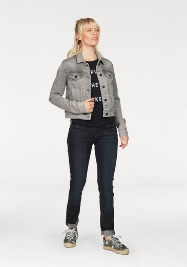LTB Jeansjacke DESTIN, aus angesagtem Sweat-Denim