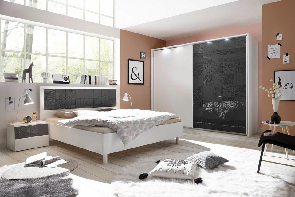 lc schlafzimmer set miro 4 tlg online kaufen otto. Black Bedroom Furniture Sets. Home Design Ideas