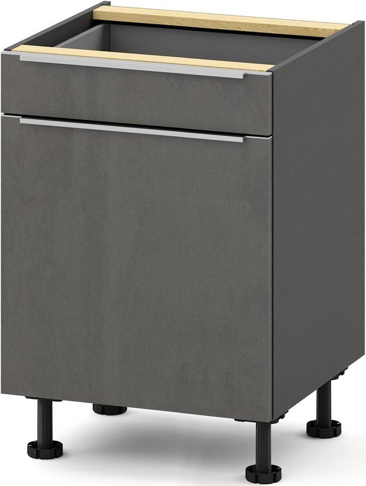 Küchenschränke - S by Störmer Unterschrank »Melle Premium«, Breite 60 cm, vormontiert  - Onlineshop OTTO