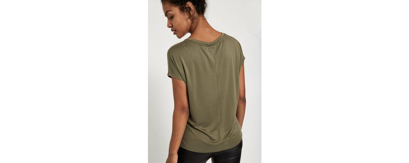 Schulter khujo der BYLLA Shirt mit khujo Stickerei Oversize Oversize auf gxfqgFR