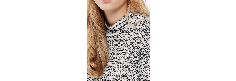 Taifun T-Shirt 3/4 Arm Rundhals Jacquard-Shirt mit Turtleneck Verkauf Erkunden Günstig Kaufen Für Schön Großer Rabatt Rabatt-Codes Wirklich Billig Verkauf Sast IM70T2LYU