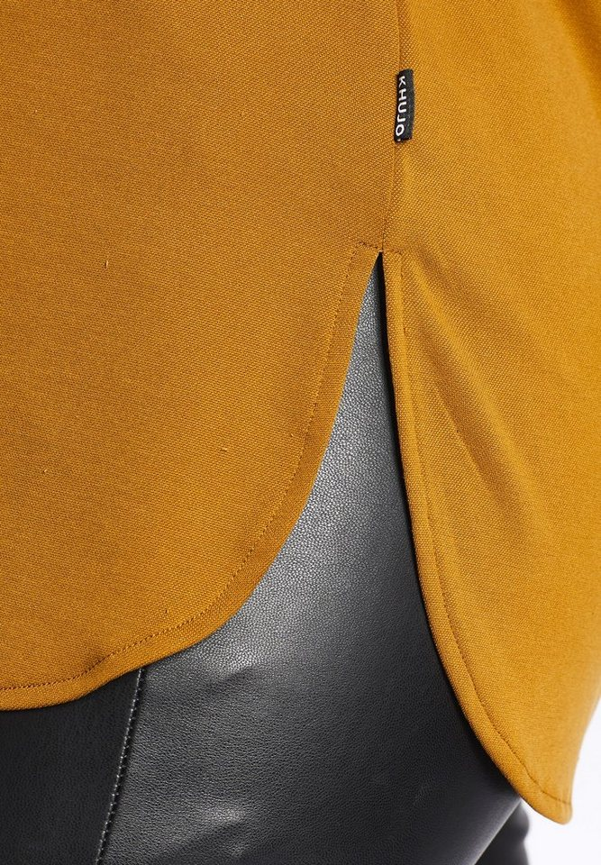khujo Longtop »EIRIS« mit Rückenausschnitt