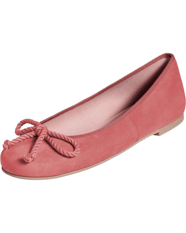 Pretty Ballerinas Velours-Ballerinas online kaufen  Koralle