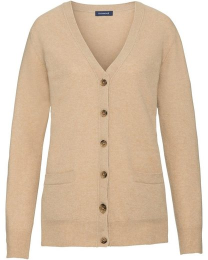 Highmoor V-Cardigan mit Patches