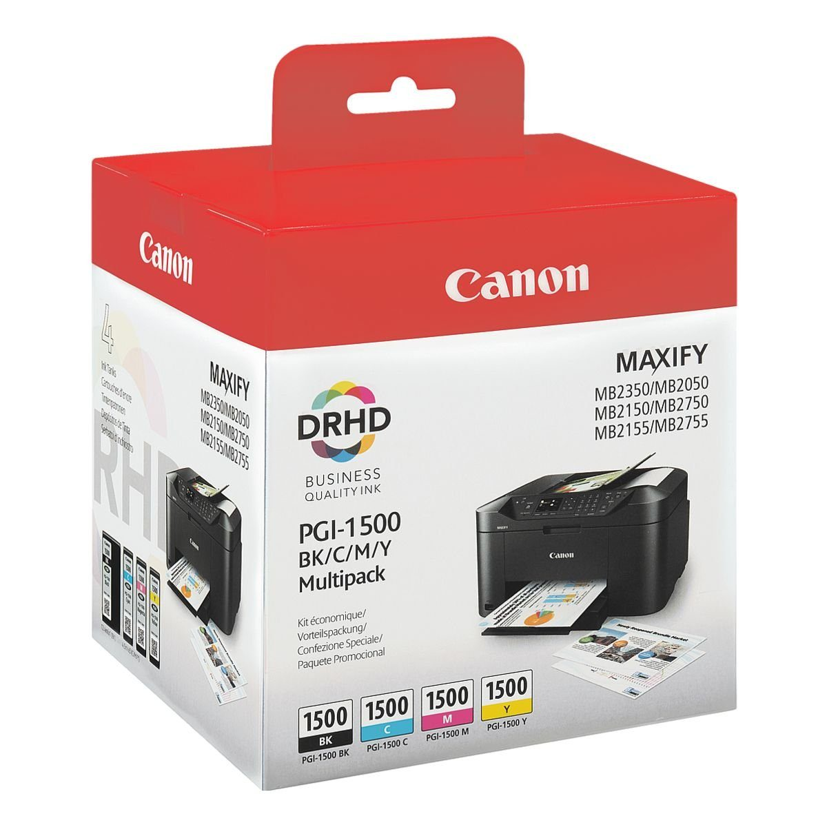 Canon Tintenpatrone »PGI-1500 BK/C/M/Y«