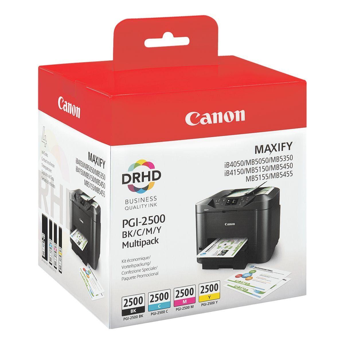 Canon Tintenpatrone »PGI-2500 BK/C/M/Y«