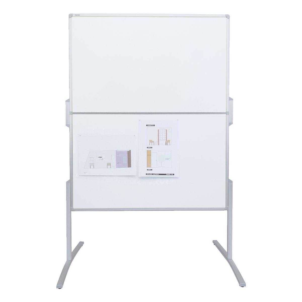 FRANKEN Moderationswand Karton 120/150 cm klappbar »PRO MT8807«
