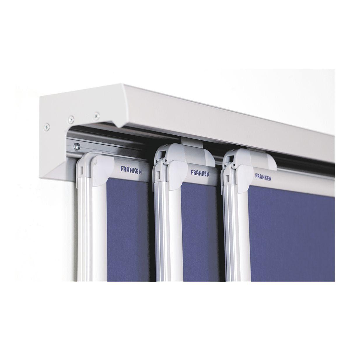 FRANKEN Tafel-Schienensystem 500 x 8 cm silber »PRO PSS8500«