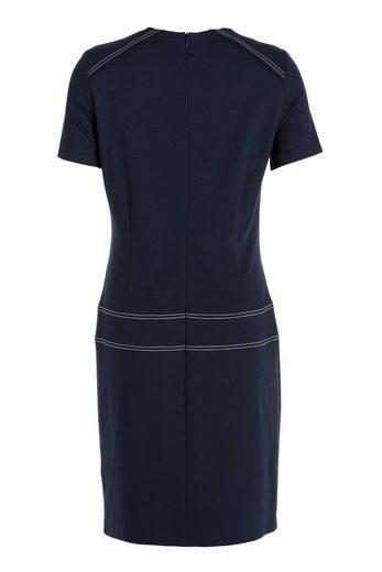 TUZZI Jerseykleid mit Kettendetail am Ausschnitt
