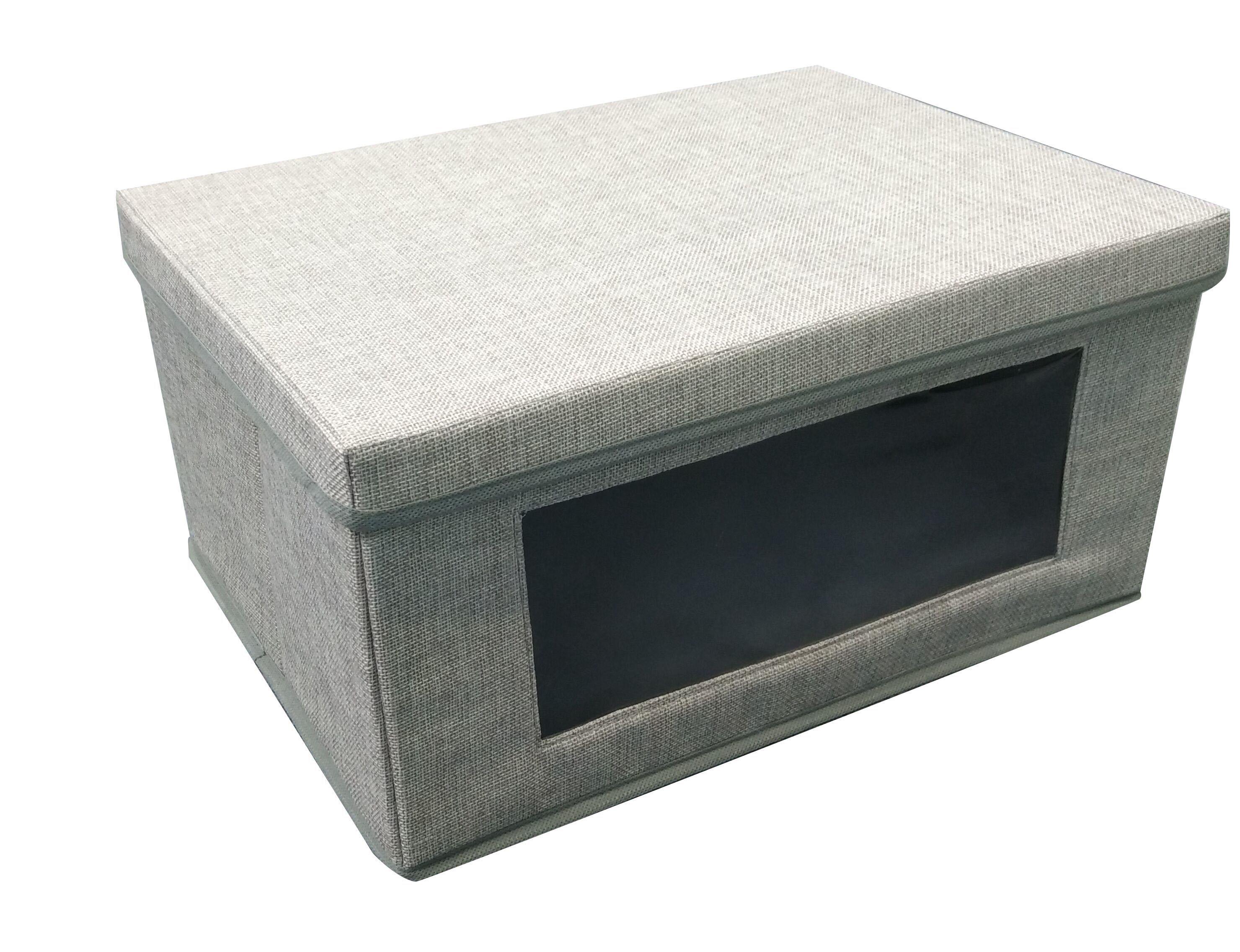 aufbewahrungsbox mit deckel preisvergleich die besten angebote online kaufen. Black Bedroom Furniture Sets. Home Design Ideas