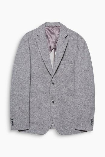 ESPRIT COLLECTION Melierter Blazer aus reiner Baumwolle