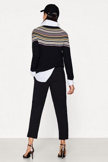 ESPRIT Verkürzte Stretch-Hose mit lockerem Cut