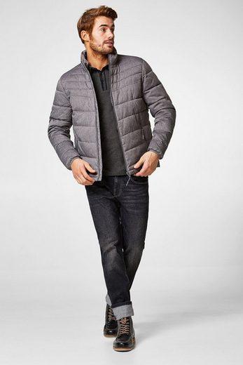 ESPRIT Gesteppte Winterjacke mit hohem Kragen